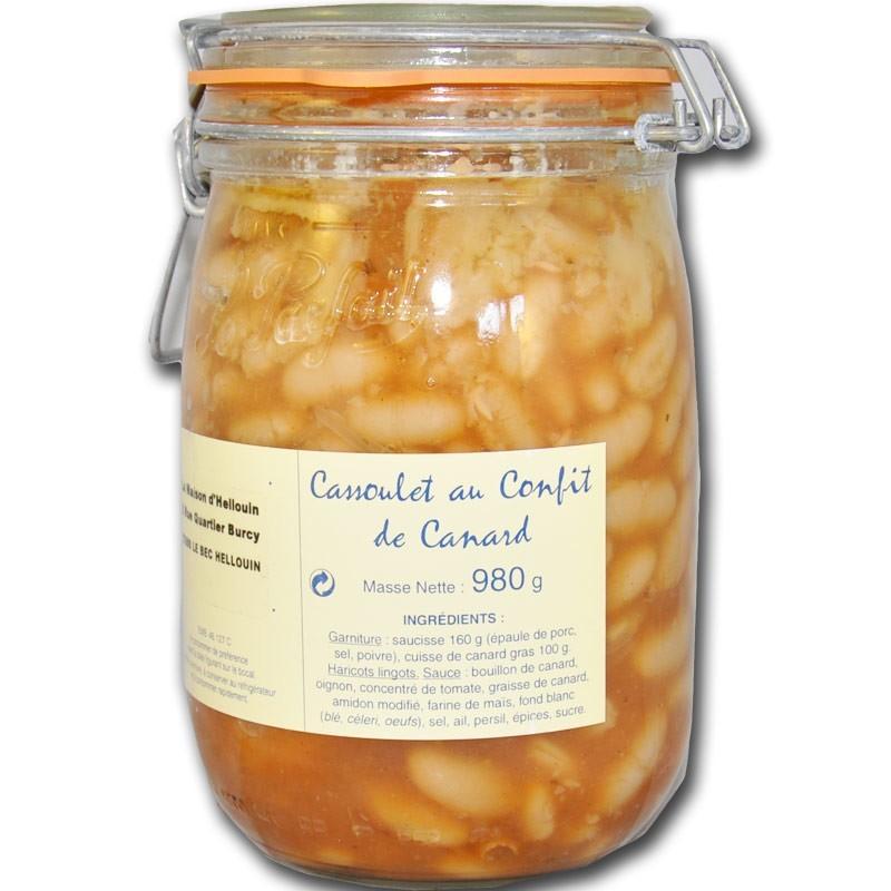 Cassoulet au Confit de Canard - épicerie fine en ligne