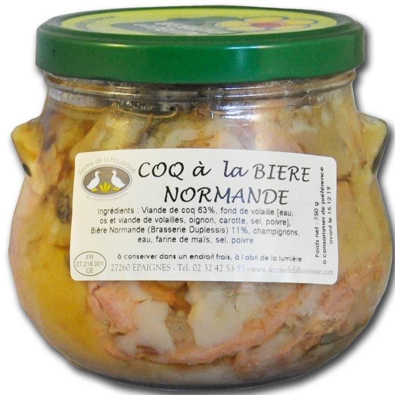 Coq à la bière Normande - épicerie fine en ligne