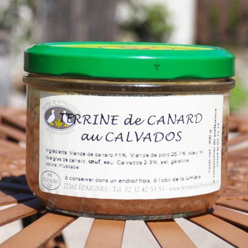 Terrine Duck Calvados - Online French delicatessen