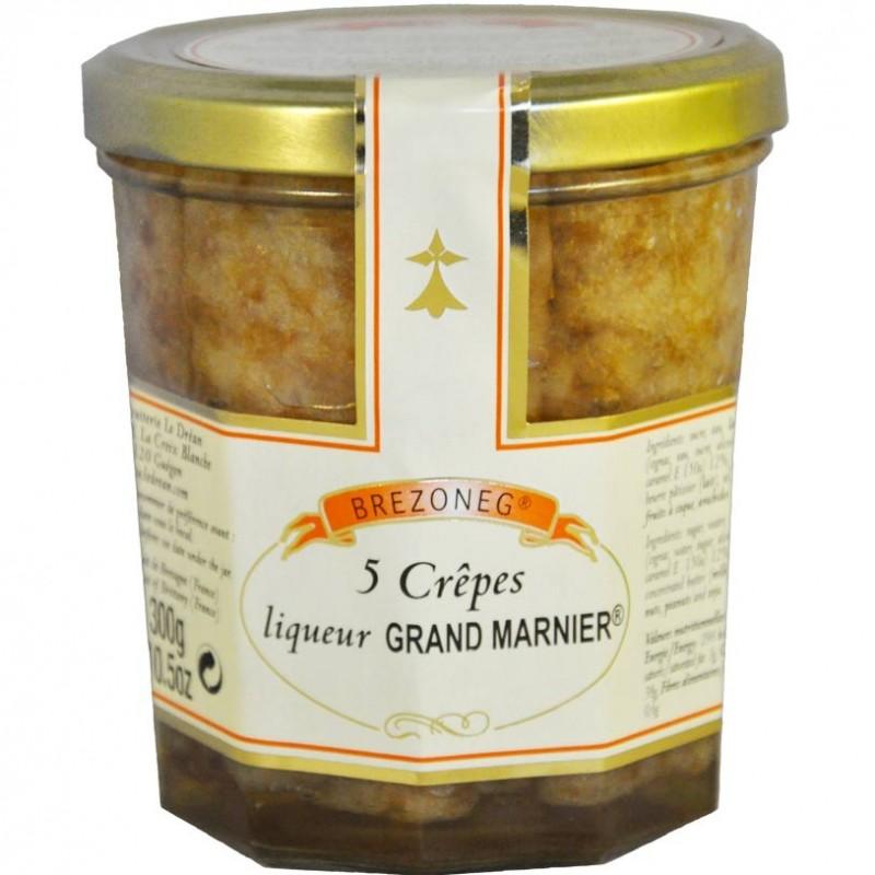 Crêpes au Grand Marnier