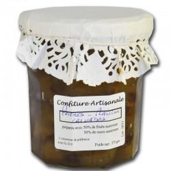 marmellata di mele e uva con il Calvados