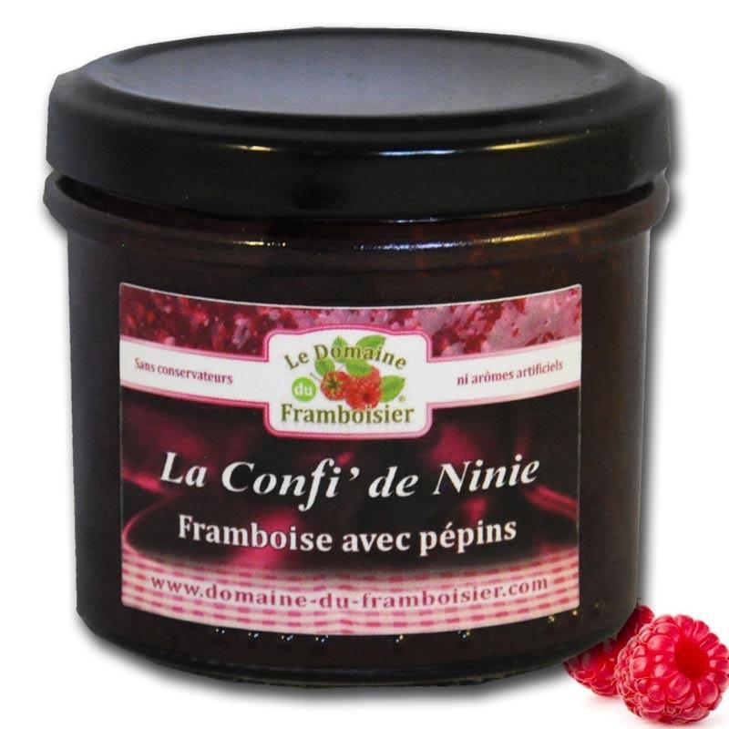 Piccola marmellata di lamponi - Gastronomia francese online