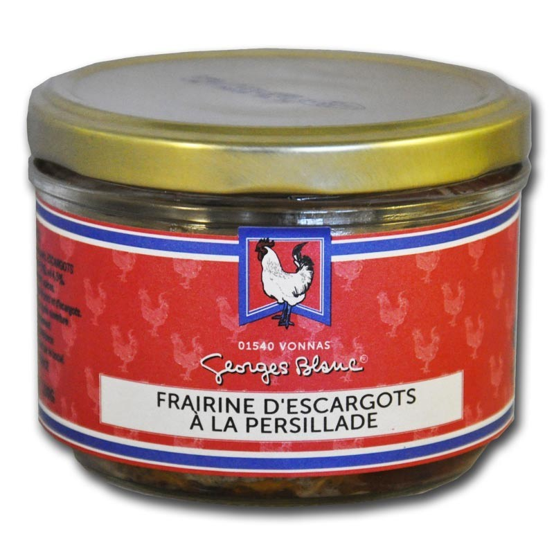 Paté van slakken met persillade