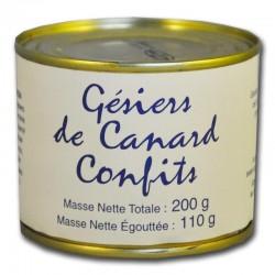 Gésiers de Canard Confits - épicerie fine en ligne