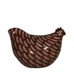 Kleines Modell des roten Huhns
