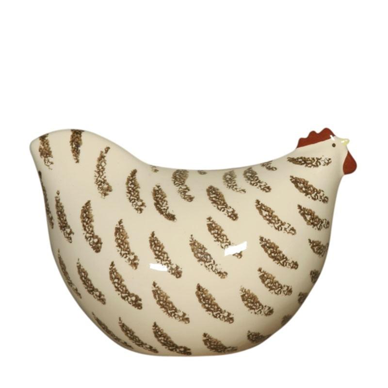 Poulette blanche moyen modèle