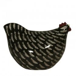 Grote model zwarte kip