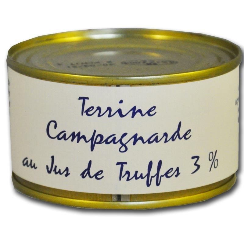 Truffle country terrine - Online French delicatessen