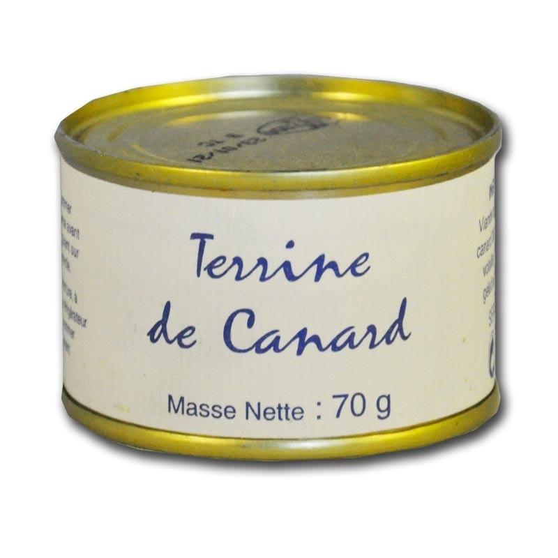 Duck terrine - Online French delicatessen