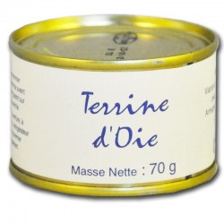 Goose terrine - Online French delicatessen