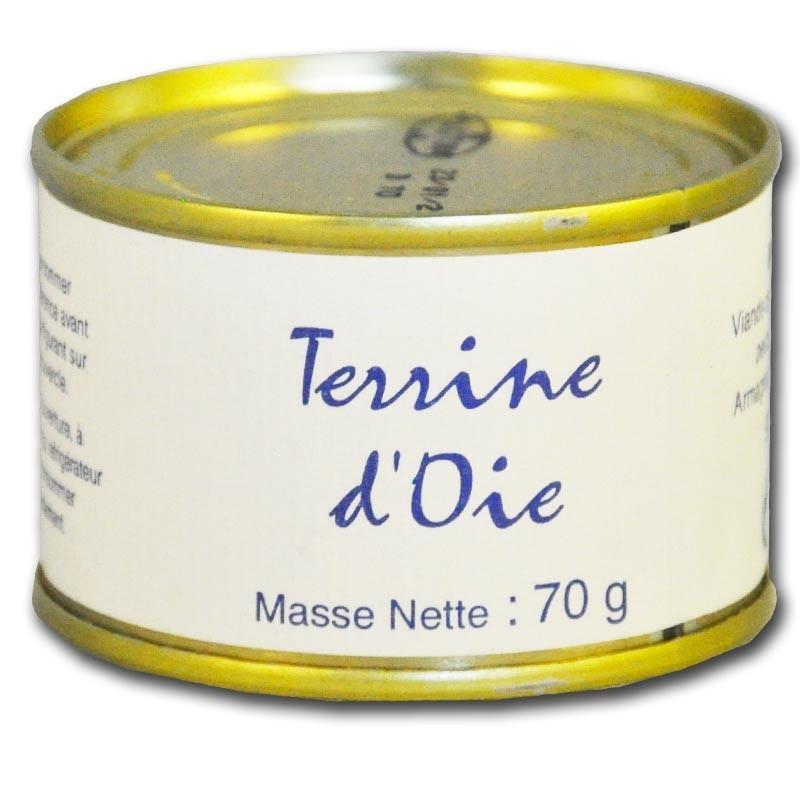 Goose terrine - Online French delicatessen