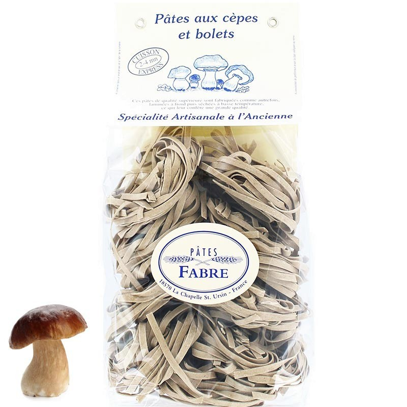 Pasta with porcini mushrooms - Online French delicatessen