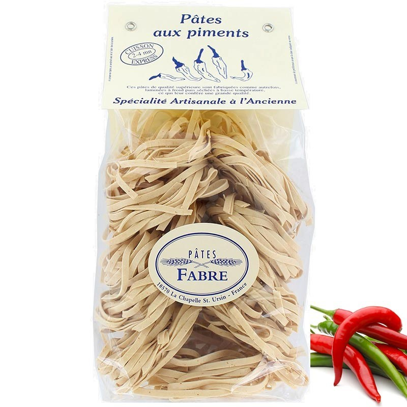Pasta with peppers - Online French delicatessen