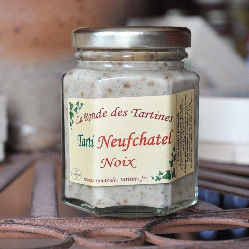 Tarti Neufchatel and walnuts - Online French delicatessen