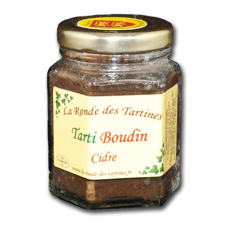Crema de pudin negro y sidra. - delicatessen francés online