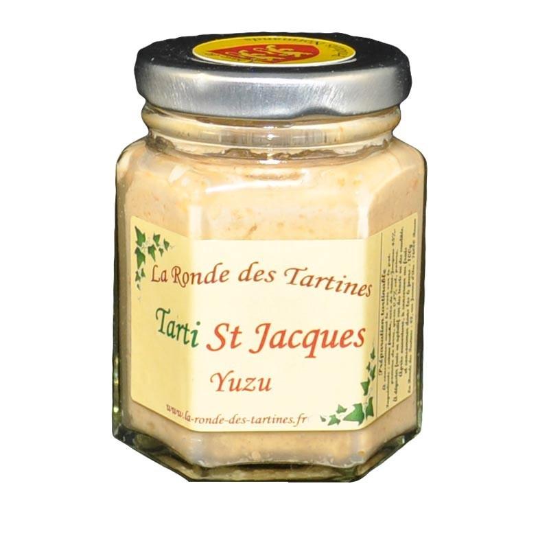 Tarti St Jacques - yuzu - Gastronomia francese online