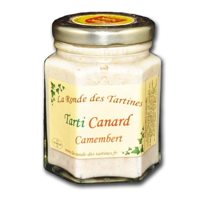 crema de pato y camembert - delicatessen francés online