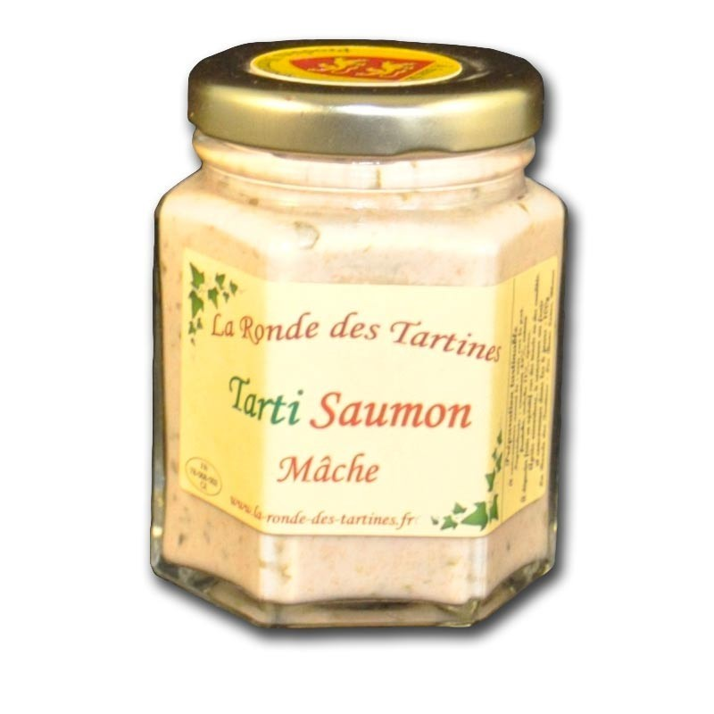 Salmon Tarti - mache - Online French delicatessen