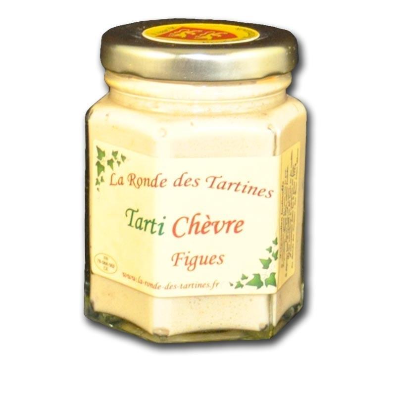 crema de queso de cabra e higos - delicatessen francés online