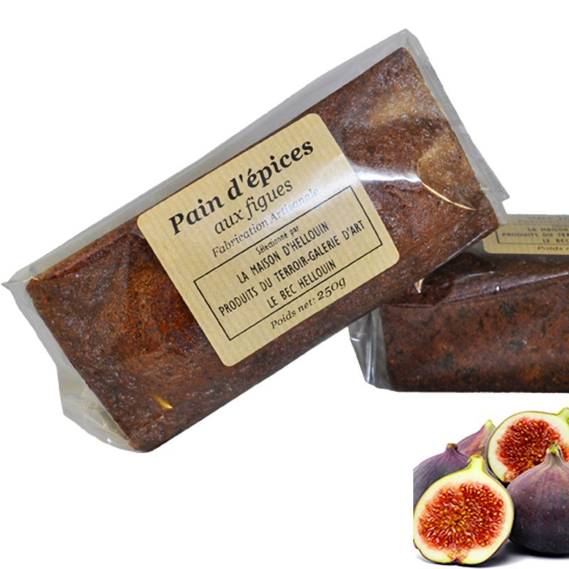 Gingerbread with Figs - Online French delicatessen