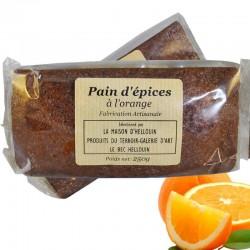 Pan di zenzero con arancia
