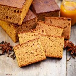 Il mio piccolo pan di zenzero fatto in casa con miele - Gastronomia francese online