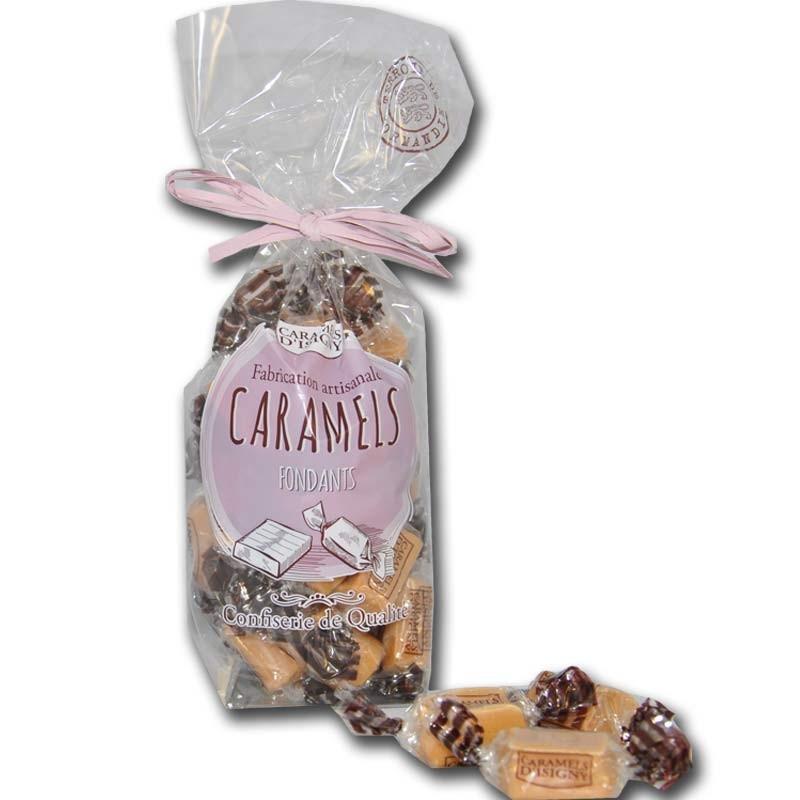 Fondant caramels