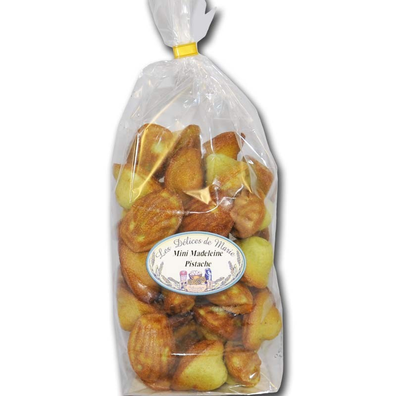 Mini-magdalenas con pistacho - delicatessen francés online