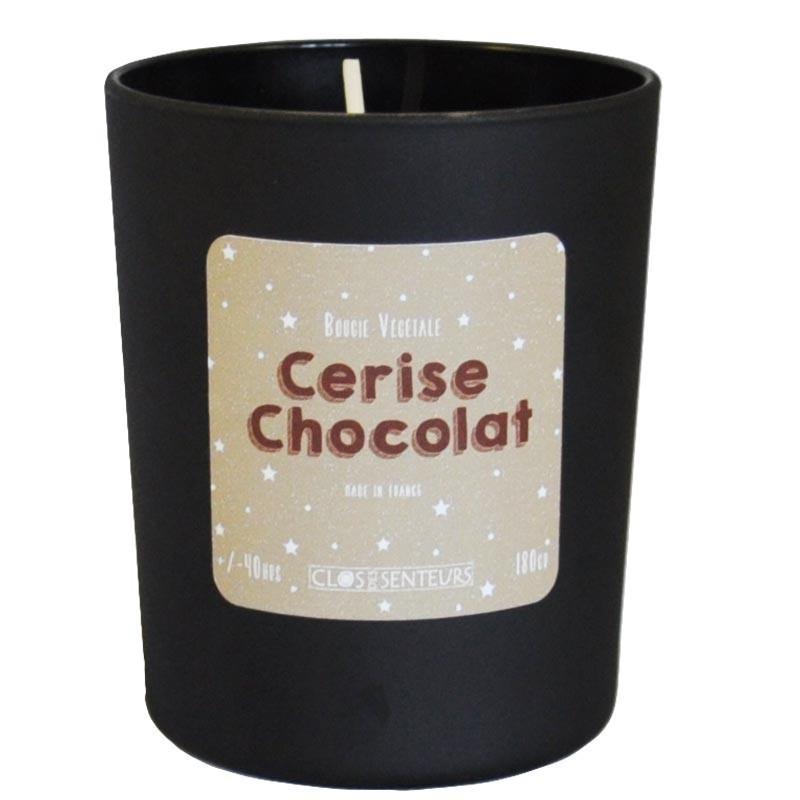 Bougie parfumée Cerise Chocolat
