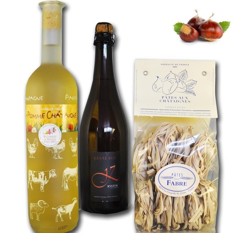 Cesto Gourmet Intorno al Castagno - Gastronomia francese online