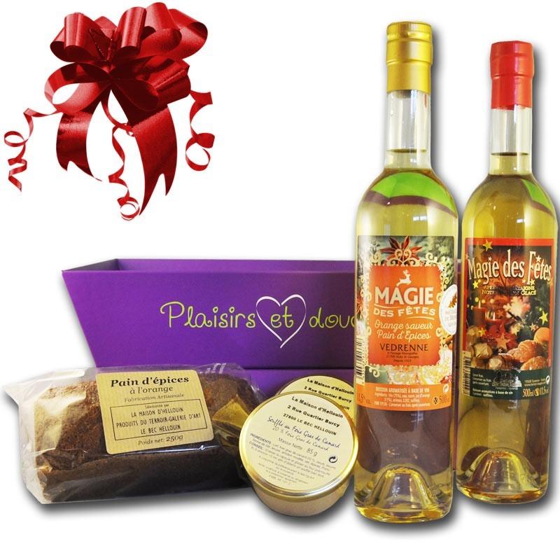 Panier Gourmand aux saveurs de Noel - épicerie fine en ligne