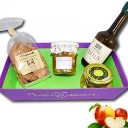 """Canasta gourmet """"Normandia y Calvados"""" - delicatessen francés online"""