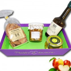 "gourmet basket ""Normandy and Calvados"" - Online French delicatessen"
