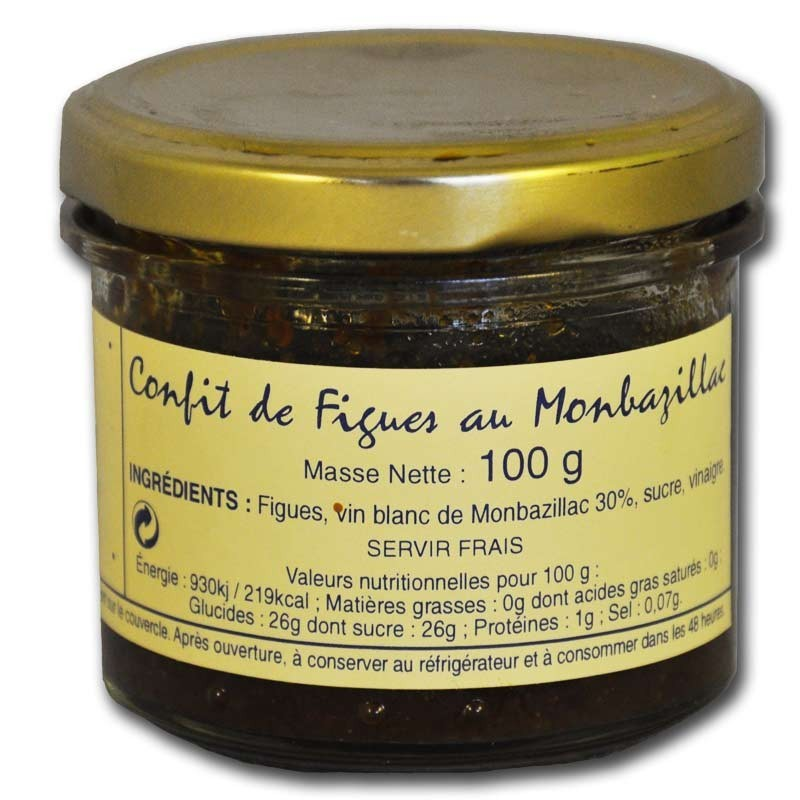 Confit of figs with Monbazillac - Online French delicatessen