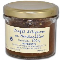 Confit d'oignons au monbazillac - épicerie fine en ligne