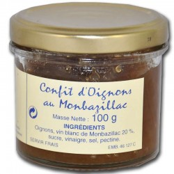 Onion confit with Monbazillac