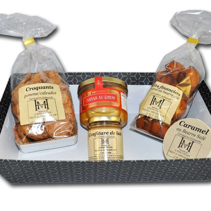 Sweet Gourmandises Gift Box - Online French delicatessen