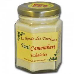 cream of camembert and shallots