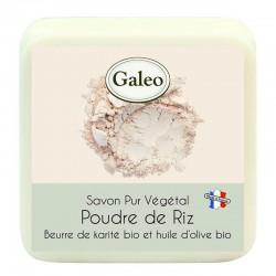 Jabón en polvo de arroz