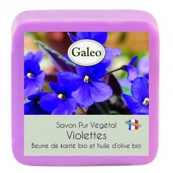 Savon artisanal a la violette