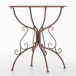 Table romantique jardin