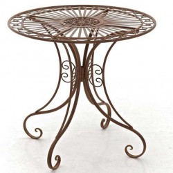 Table nostalgie jardin