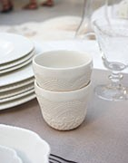 Copas, una original selección de tazas de porcelana.