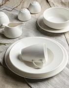 Tableware, quality porcelain