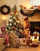 Adornos navideños, para el árbol o para la casa.