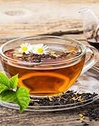 Französische Tees Kaffee