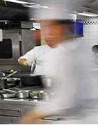 Französische Produkte von einem großen Koch zubereitet