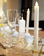 Velas de mesa